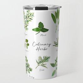 Culinary Herbs Travel Mug