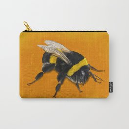 Fuzzy Bumblebee Carry-All Pouch