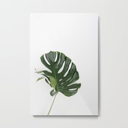 MONSTERA III Metal Print