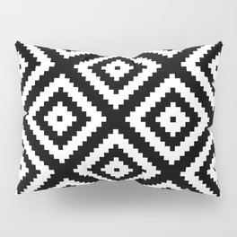 Tribal B&W Pillow Sham