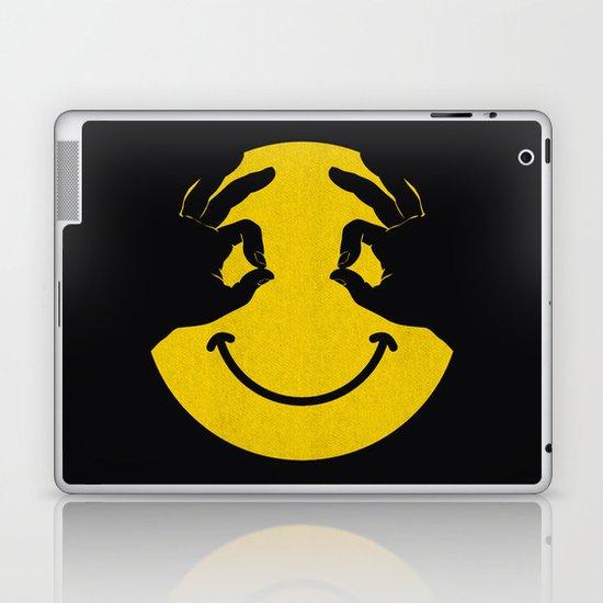 Make You Smile Laptop & iPad Skin