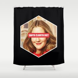 Santa Clarita diet Shower Curtain