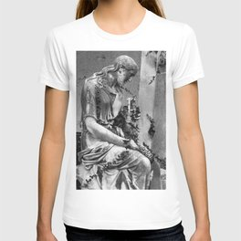 sad female statue T-shirt