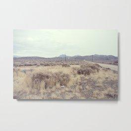 Rabbit Springs Road Metal Print
