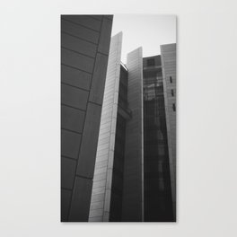 Building Vernacular  Canvas Print