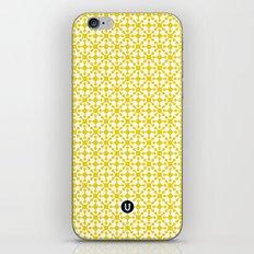 U15: atomic yellow B iPhone & iPod Skin