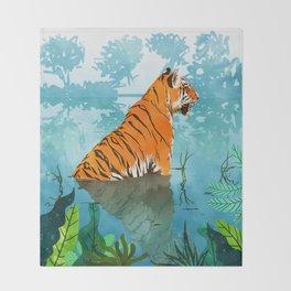 Tiger Creek Throw Blanket