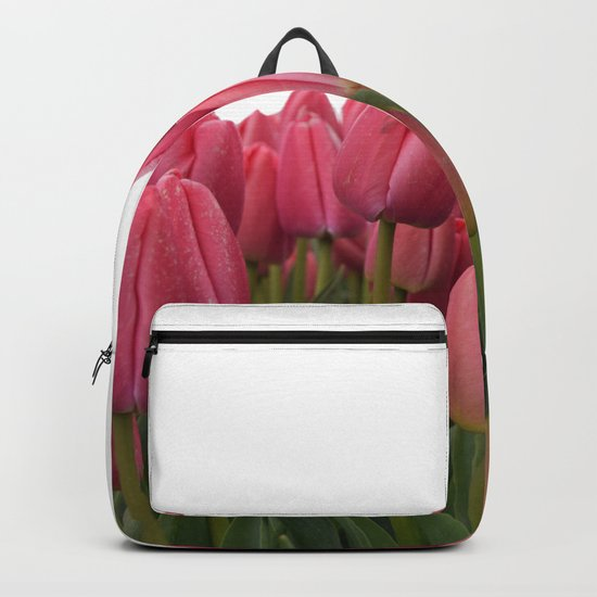 Tulips Field #7 Backpack