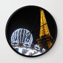 The More the Merrier - Night Wall Clock