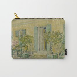 Exterior of a Restaurant in Asnières Carry-All Pouch