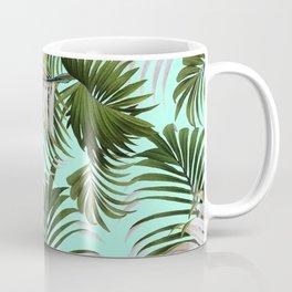 Tropical Leaf Pattern II Coffee Mug