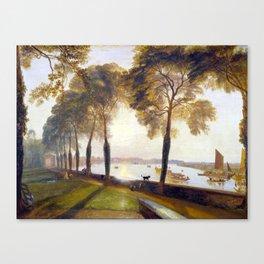 Joseph Mallord William Turner Mortlake Terrace Canvas Print