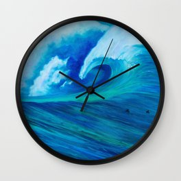 The French Banks Wall Clock