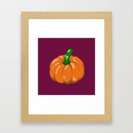 Pumpkin #2 Framed Art Print