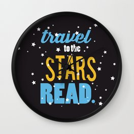 Stars - Just Read Wall Clock