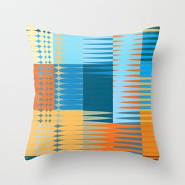 the colours of this year Throw Pillow