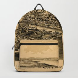Map Of Catskill 1889 Backpack