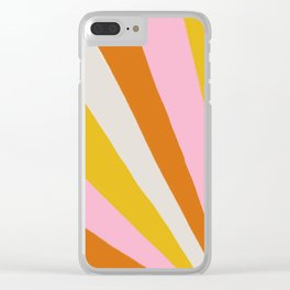sunshine state of mind Clear iPhone Case