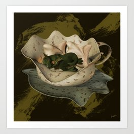 Fabled Cup of Dreams Art Print