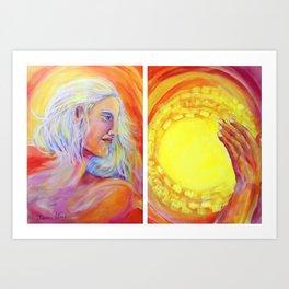 Apollo, I am the SUN Art Print