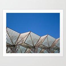 Architecture fragment 1 Art Print