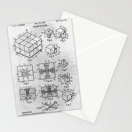 Rubik cube Stationery Cards
