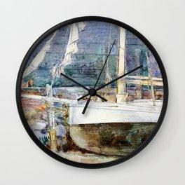 Drydock, Gloucester - Digital Remastered Edition Wall Clock