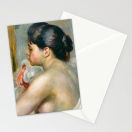 "Auguste Renoir (1841-1919) ""Dark-Haired Woman"" Stationery Cards"