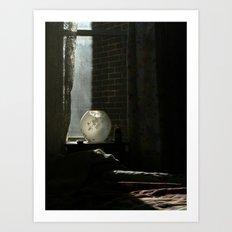 light and shadow Art Print