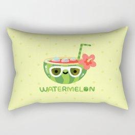 Vacance watermelon Rectangular Pillow