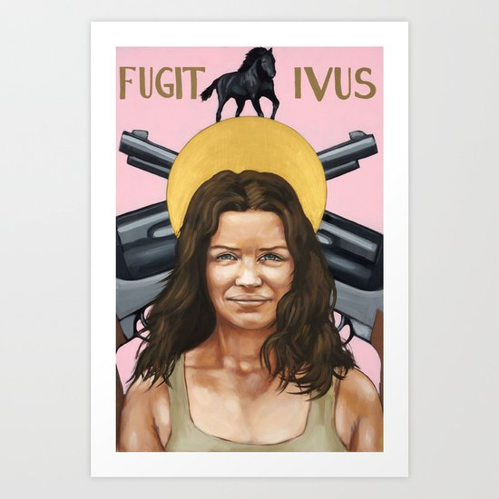 Saints of LOST | Kate Art Print
