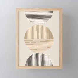one last swim Framed Mini Art Print