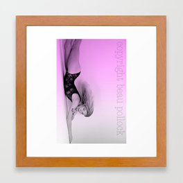 ana colja (euro supermodel) Framed Art Print
