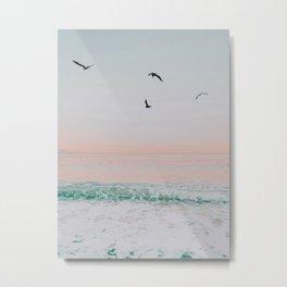 summer beach sunset ii / puerto vallarta, mexico Metal Print