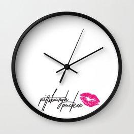 Pittsburgh Pucker 2 Wall Clock
