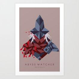 Abyss Watcher Art Print