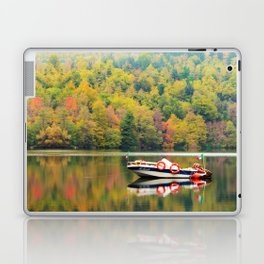 Autumn Reflections in the lake Laptop & iPad Skin
