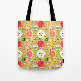 4160 Tuesdays Rainbow Botanicals Tote Bag