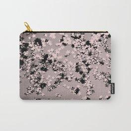 Blush Glitter Stars #1 #shiny #decor #art #society6 Carry-All Pouch
