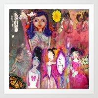degas Art Prints featuring Degas by sara aguiar