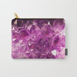 Amethyst Gemstone Carry-All Pouch