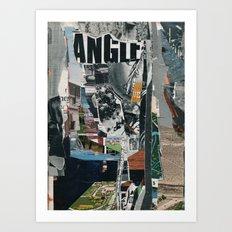 angle 5 Art Print