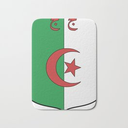 Coat Of Arms Of Algeria_Country_History_(1962-1971) Bath Mat