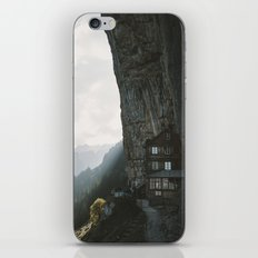 Mountain Cabin - Landscape Photography iPhone & iPod Skin