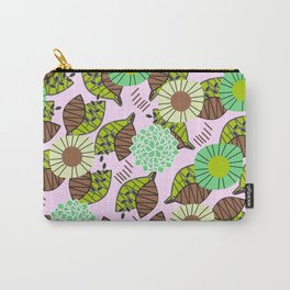 Atypical leaves and flowers Carry-All Pouch