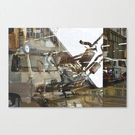 Car Emissions - overlapper Canvas Print