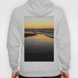 Beach after the Wave at Sunset Hoody