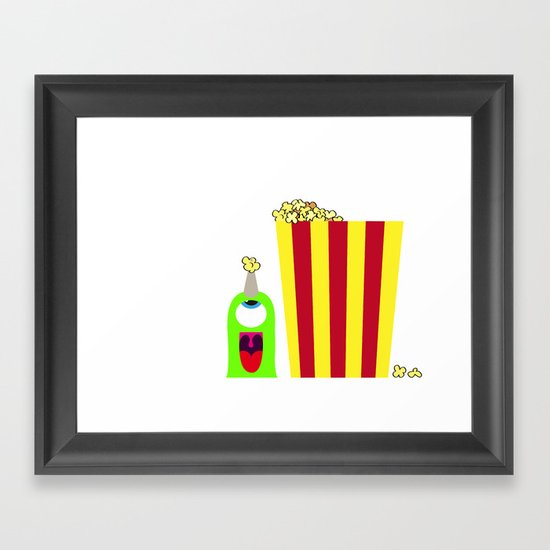 Bubol POP Framed Art Print