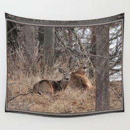 White-Tailed Deer Wall Tapestry
