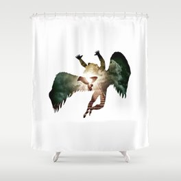 Icarus - Stairway To Heaven Shower Curtain